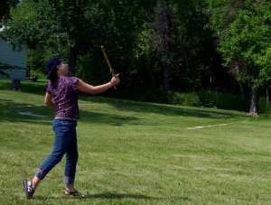 2004 © Atlatl throwing